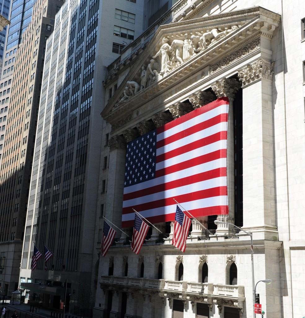 An welchem Wochentag ist die Börse (hier:  Wall-Street) am besten gelaunt?