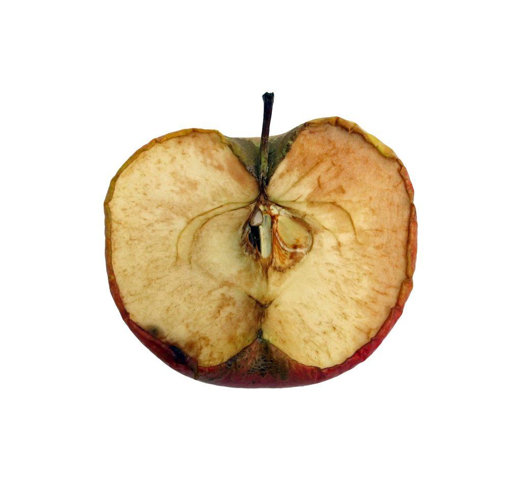 hat Apple wie dieser Apfel die besten Zeiten hinter sich?