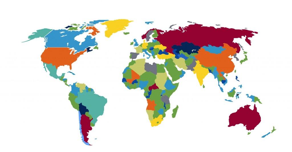 Über 160 Staaten gibt es auf unserer Erde